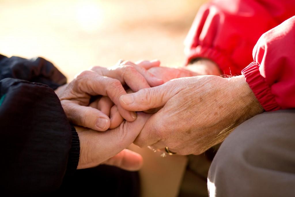 Praying Hands Couple