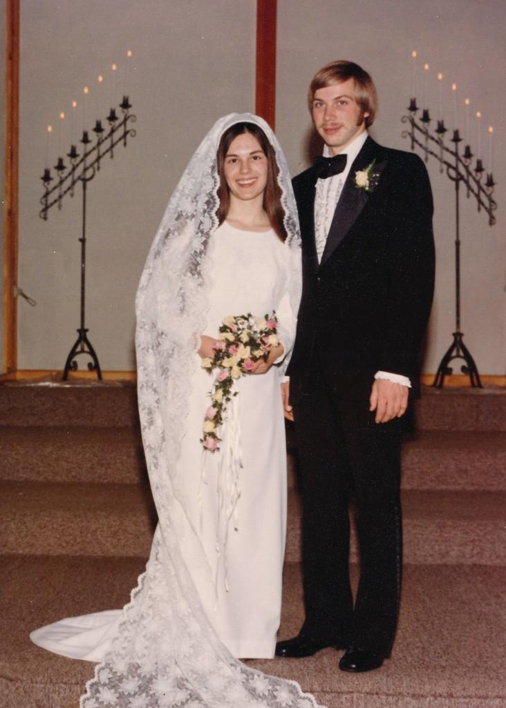 December 27, 1974  Dennis and Linda Gingerich