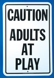 Adults at Play Sign
