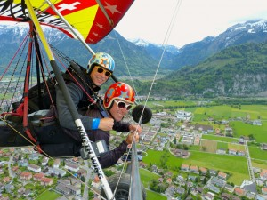 Hang Gliding in Interlaken, Switzerland
